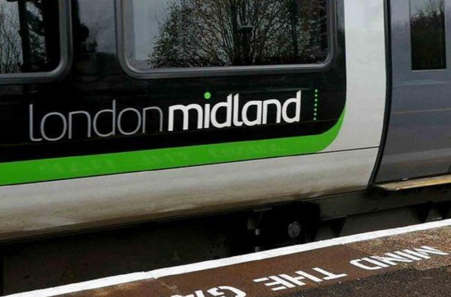 London Midland train disruption today on Kidderminster-Stourbridge-Birmingham line