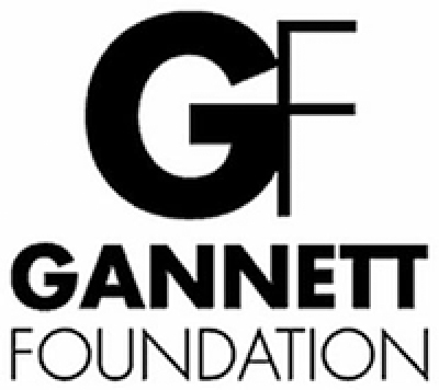 Gannett Foundation logo.