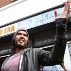 Halesowen News: Russell Brand gives his east London cafe to charity