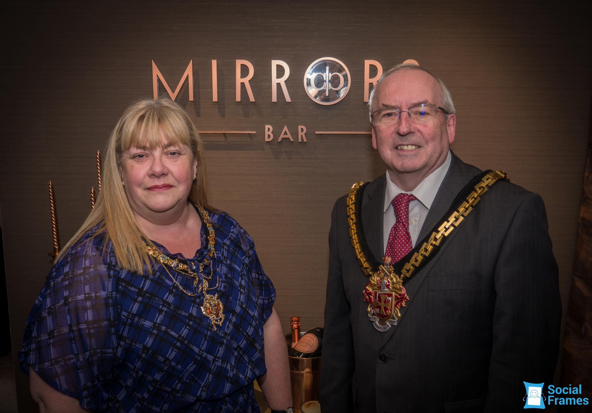 The Mayor and Mayoress of Wolverhampton