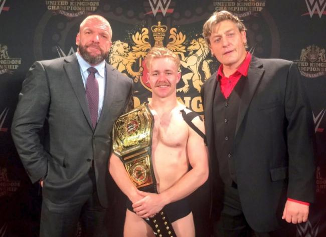 Triple H, Tyler Bate and William Regal