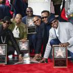 Halesowen News: 80s group New Edition presented with Hollywood Walk of Fame star