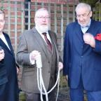 Halesowen News: Dan Price, Graham Moffit and Richard Delahaye will star in Stourbridge Theatre Company's production of And Then There Were None. Photo: STC