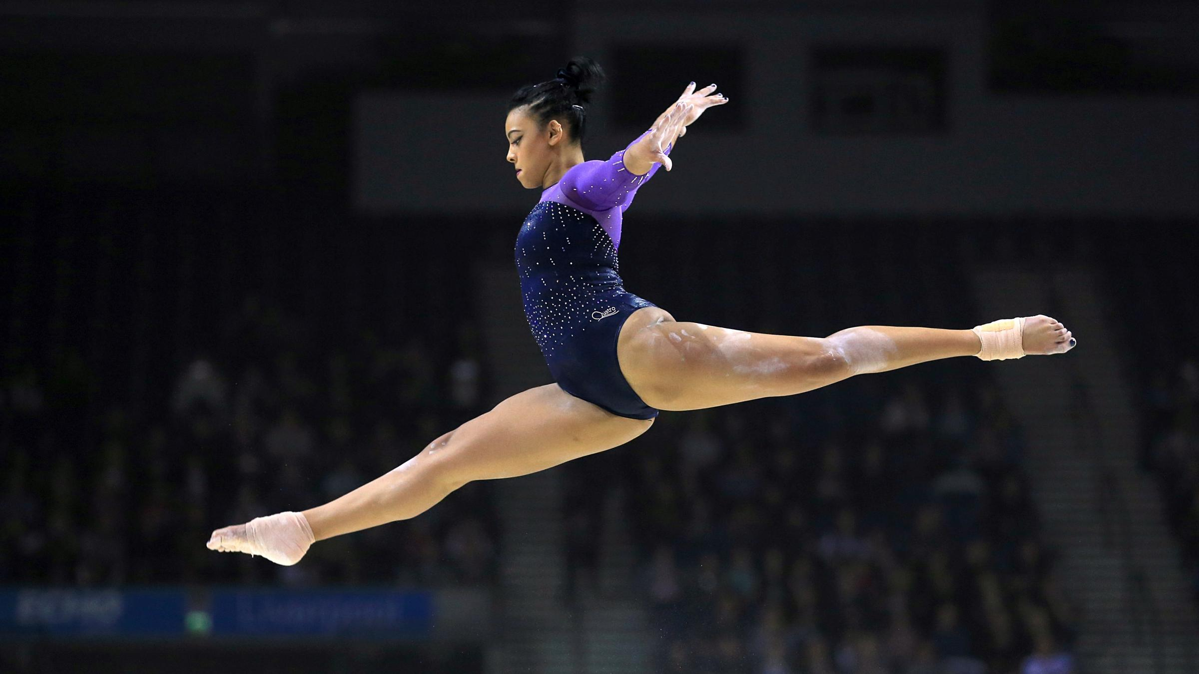 Britain's Ellie Downie qualifies for all-around and all apparatus finals in Cluj