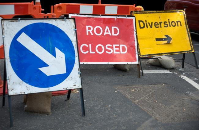 Road closed in Cradley Heath after water mains burst