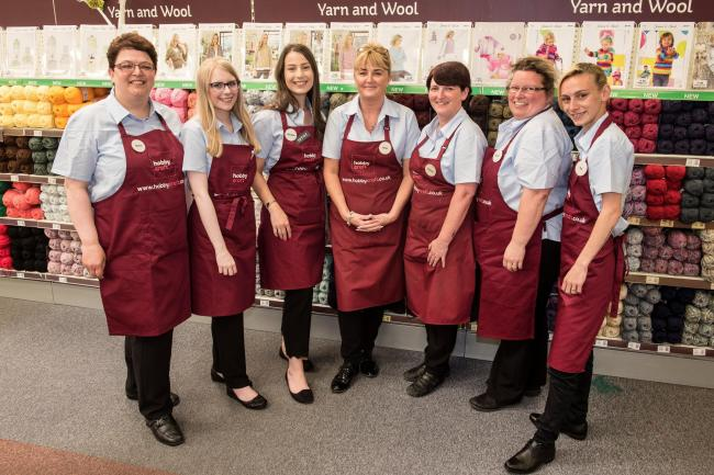 Brierley Hill S New Hobbycraft Store Set To Create 20 Jobs At Merry