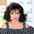 Halesowen News: Actress Joan Collins comments on BBC pay gap dispute