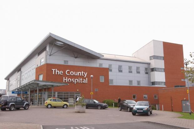 Many patients faced a long wait at the A&E department at Hereford County Hospital