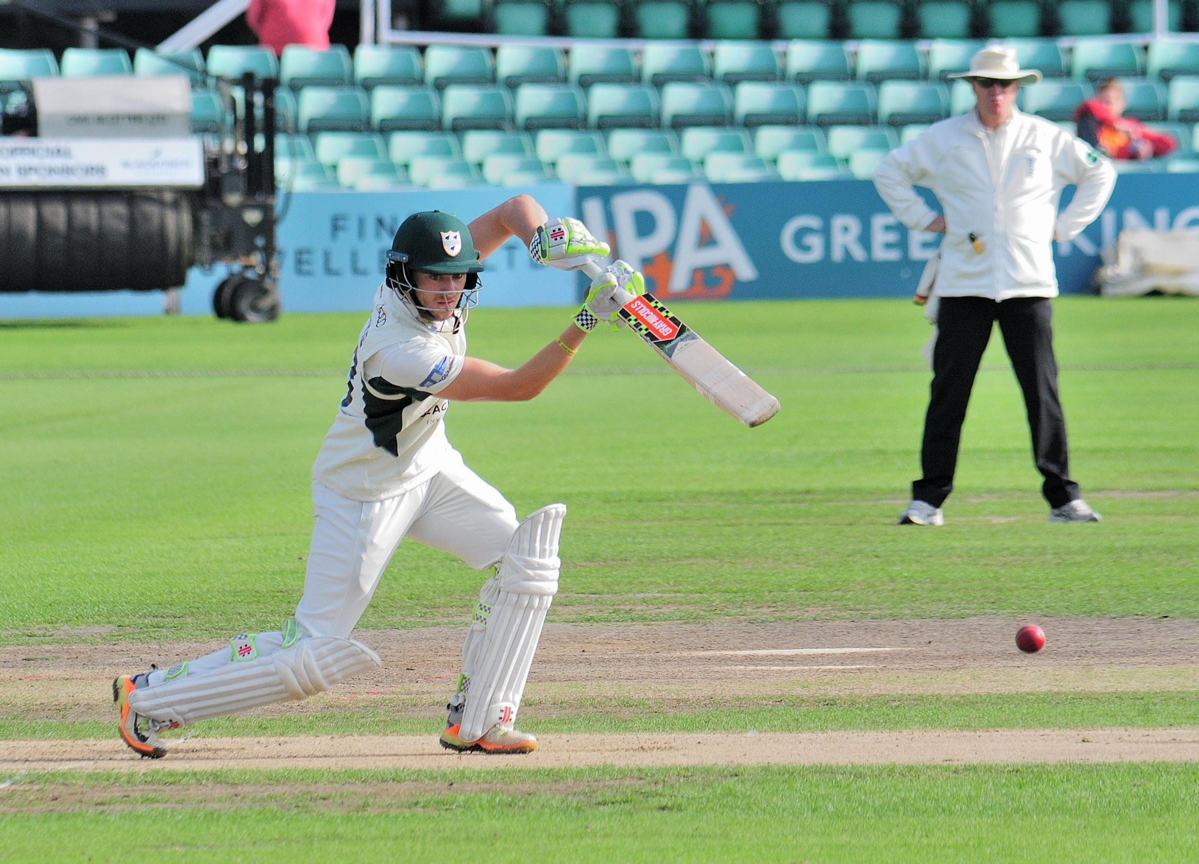 Cricket: Early England Lions exit for Worcestershire's Joe Clarke