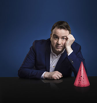 Political comedian Matt Forde brings his latest stand-up tour to Stourbridge Town Hall on Friday, October 27.