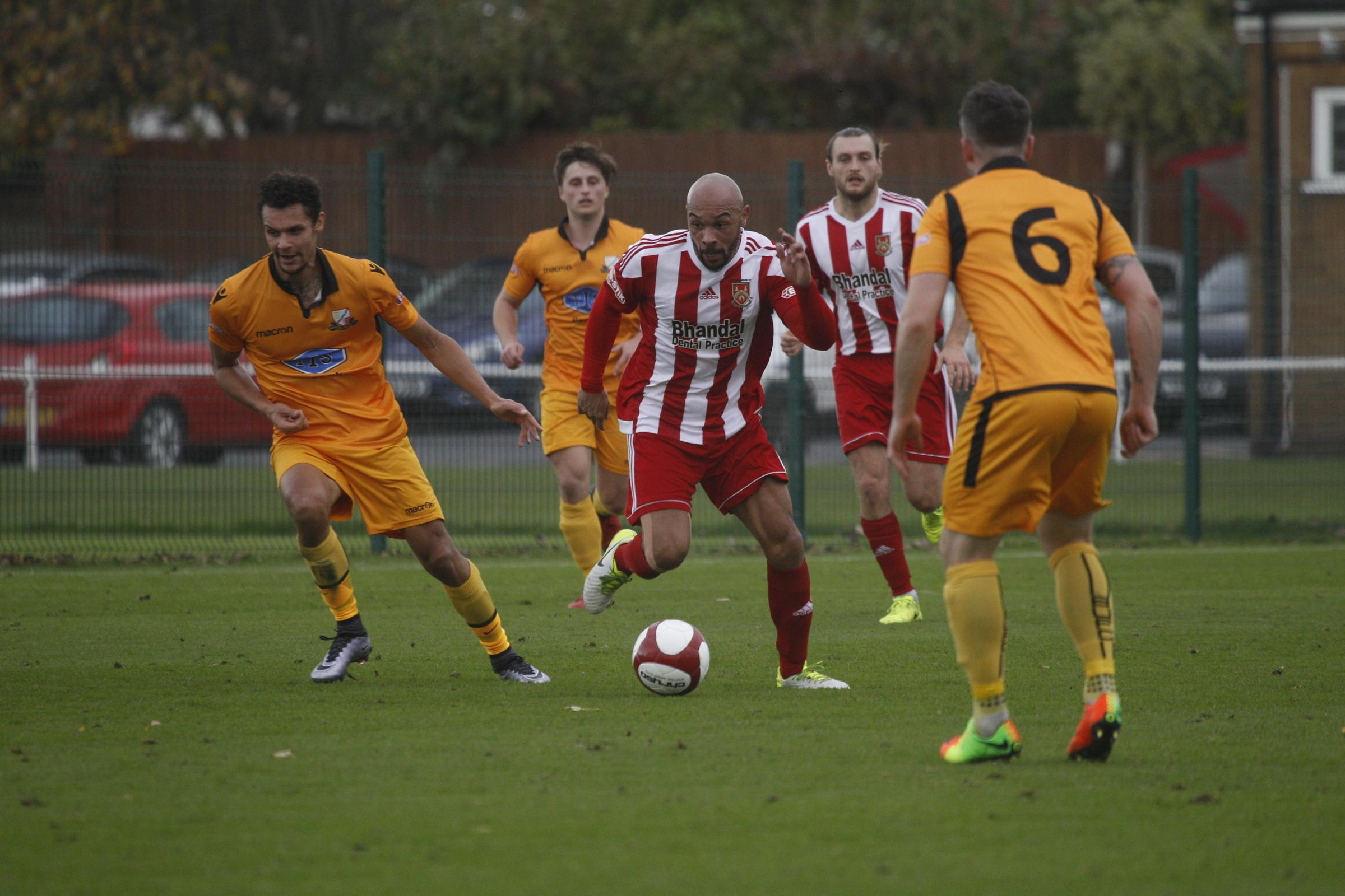 Aaron Forde could return to action against Billericay. Photo by Andrew Roper