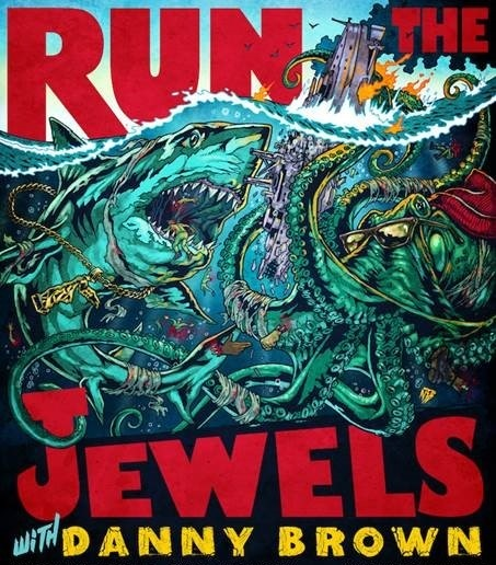 Run The Jewels will be joined by special guest Danny Brown when they play Birmingham's O2 Academy on November 14.
