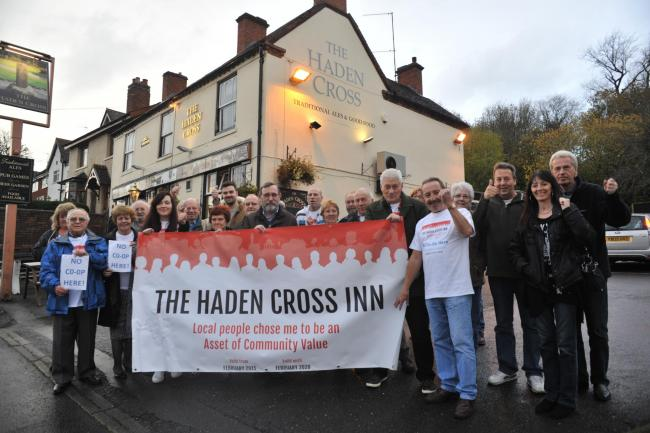 The Friends of Haden Cross won the battle to save their favourite pub.
