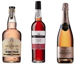 Aldi has launched a new range of pink drinks. Picture from Aldi