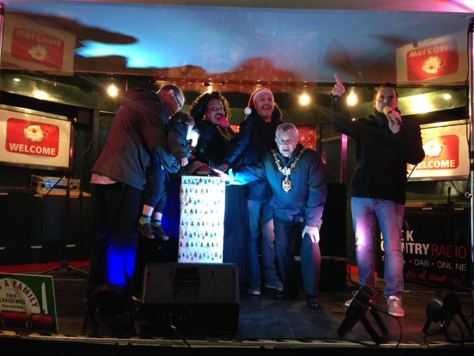 Alison Hammond switched on Dudley's Christmas lights