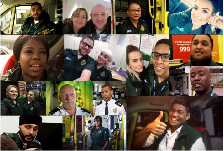 Join the team at West Midlands Ambulance Service. Photo: WMAS