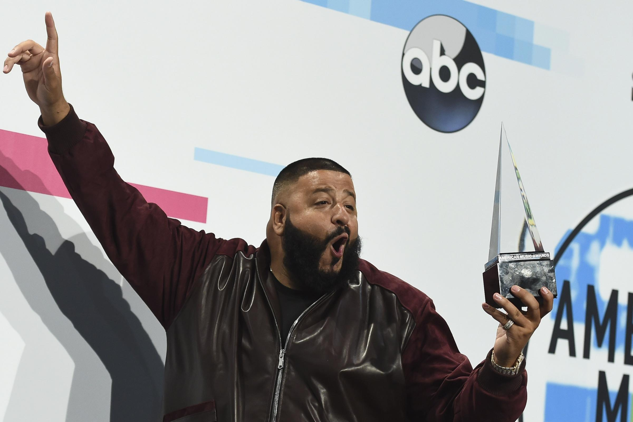 DJ Khaled excited to be welcomed to Weight Watchers by Oprah Winfrey (Jordan Strauss/Invision/AP)