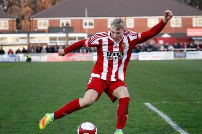 Chris Lait has returned to Stourbridge on loan. Photo by Andrew Roper