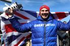 Dom Parsons won Great Britain's first Olympic medal of the Pyeongchang Games with skeleton bronze (Mike Egerton/PA Images)