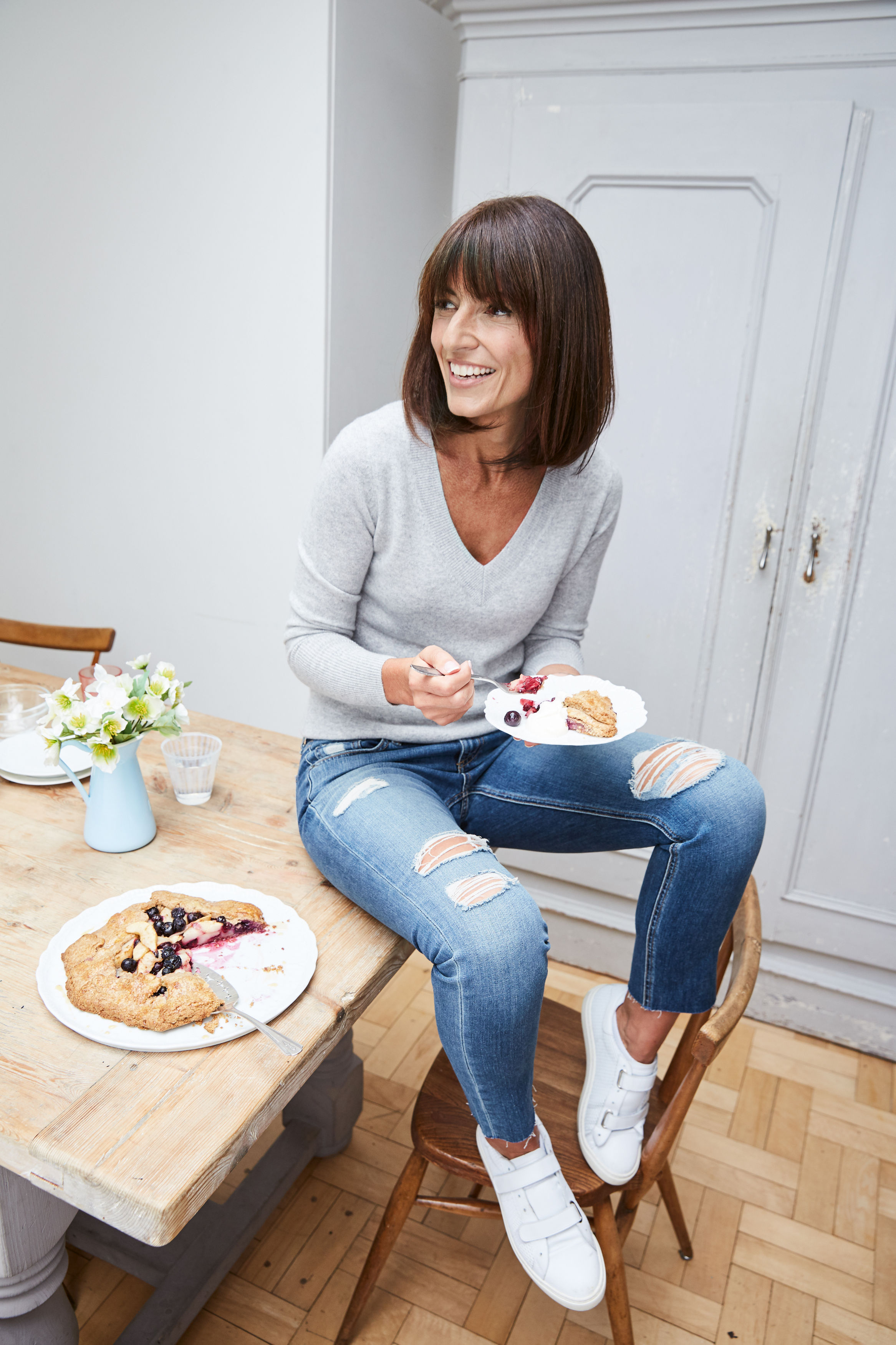Davina McCall is going sugar free in her new book. Picture: PA Photo/Debby Lewis-Harrison