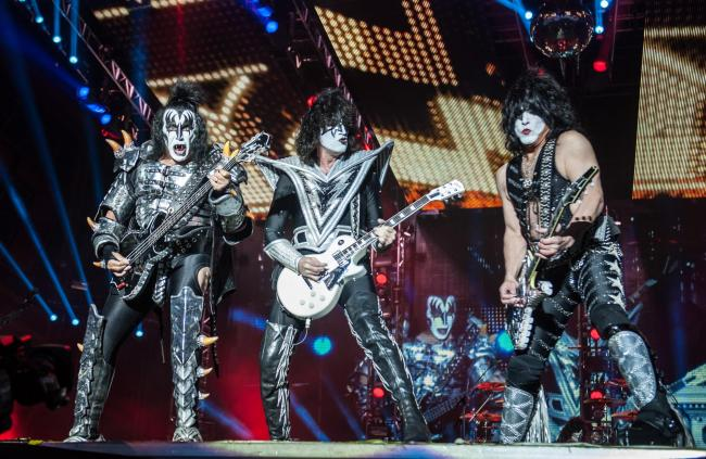 Kiss, pictured, will perform at Download Festival 2020. (Archive photo)