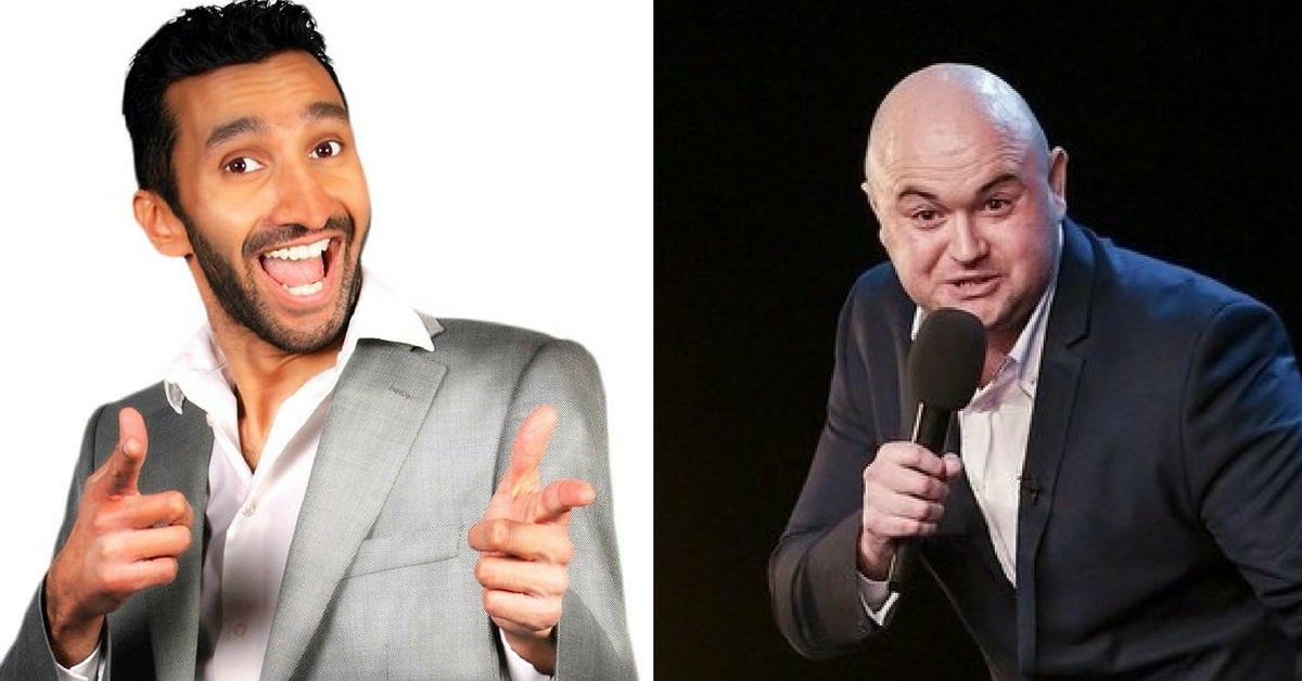 Comics Imran Yusuf and Danny Posthill will appear on a double headline bill at Fitz of Laughter Comedy Club in Stourbridge this Friday (April 6).