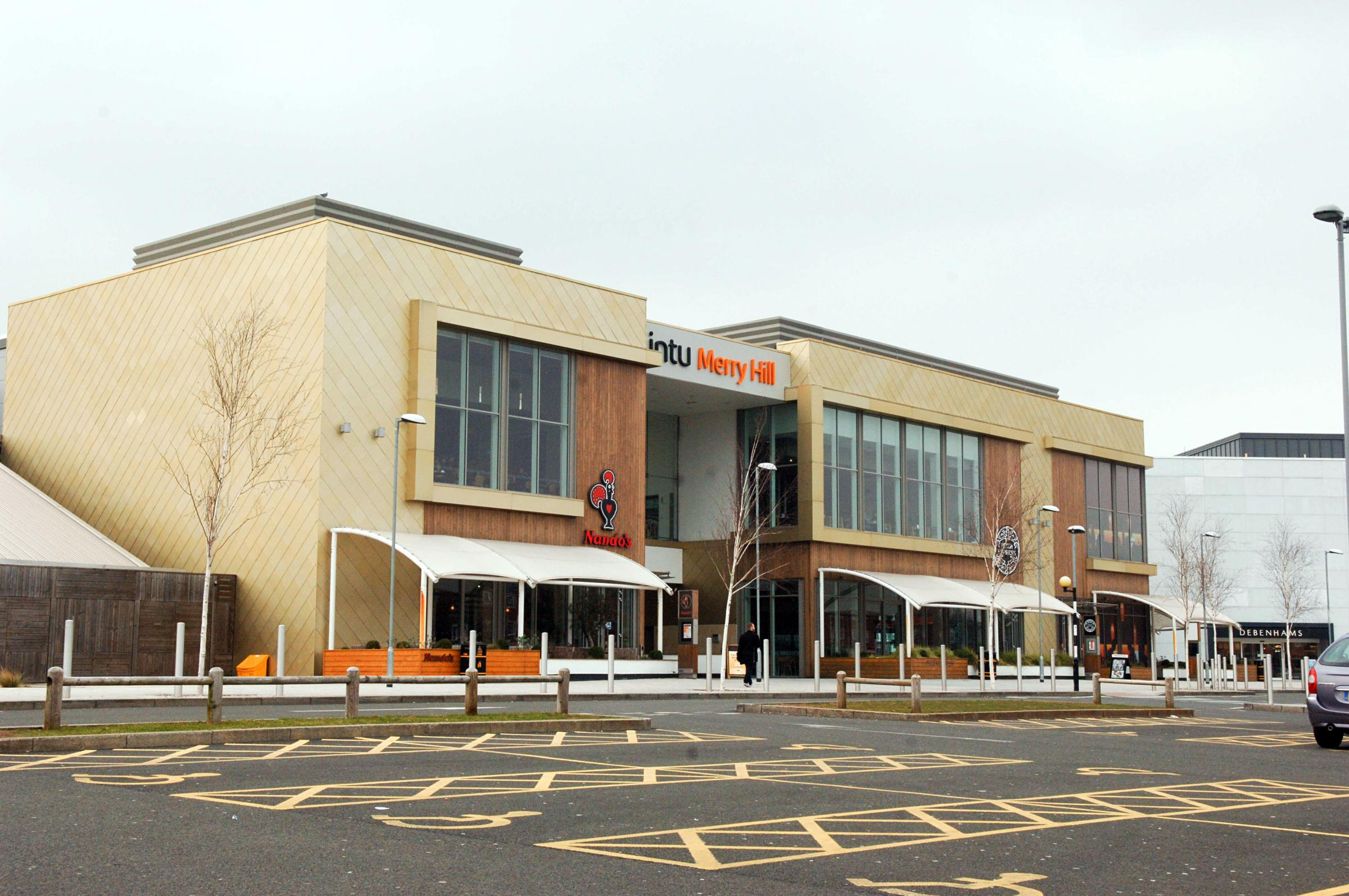 Merry Hill Shopping Centre. Photo: Newsquest