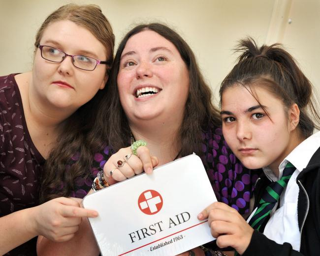 A Comedy Theatre Group's Jade Scotford, Laura Liptrot, Natasha Timmins will star in First Aid.