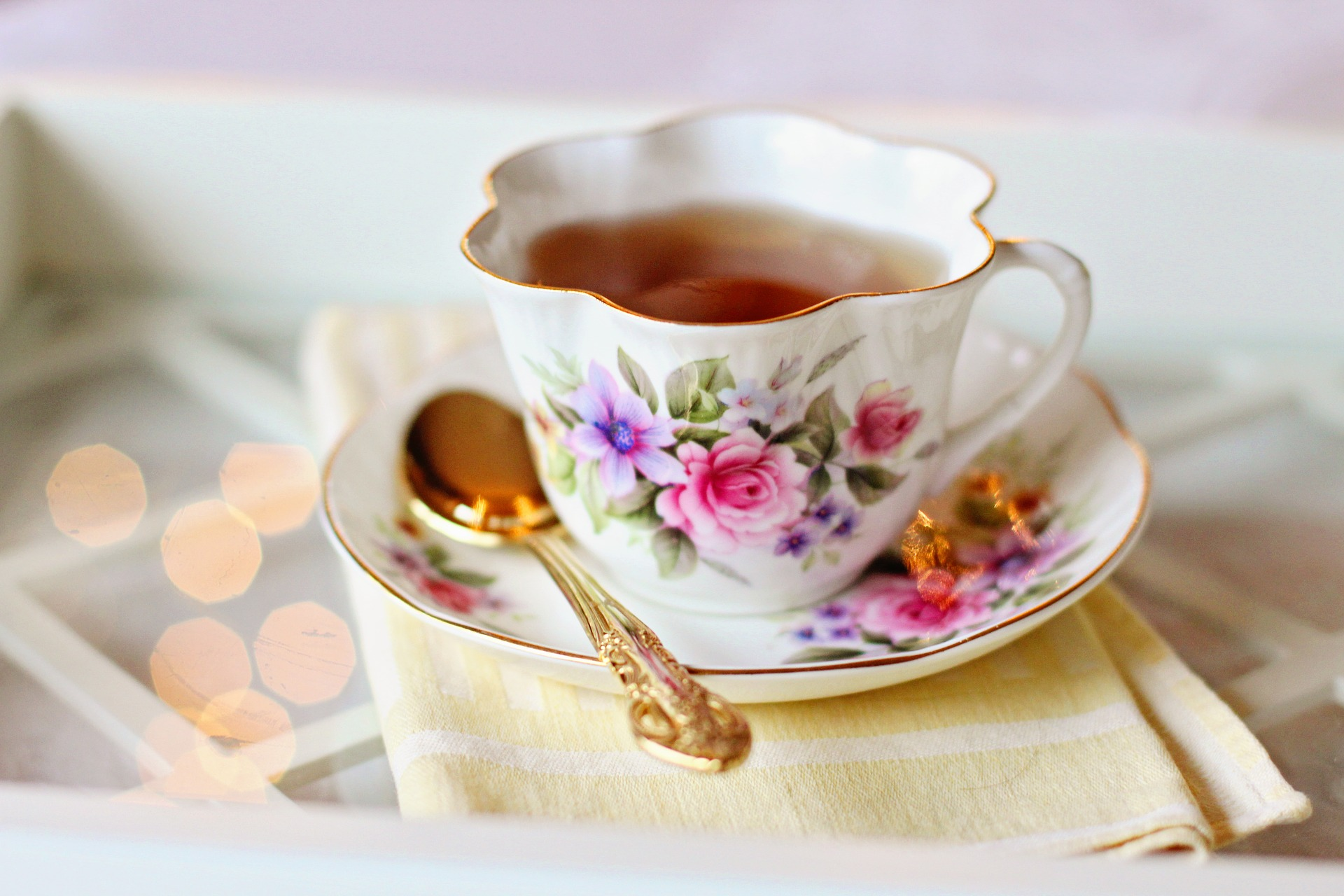 Join park friends group for 'Tea on the Terrace'. Pic: Pixabay
