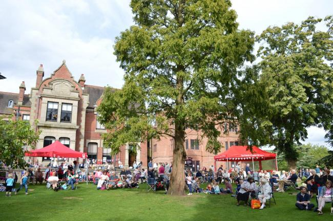 Live music returns to Haden Hill House Museum and Park this weekend.