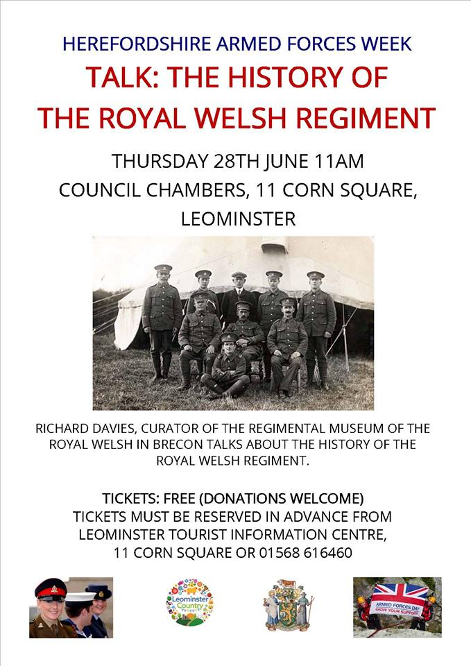 History Of The Royal Welsh Regiment
