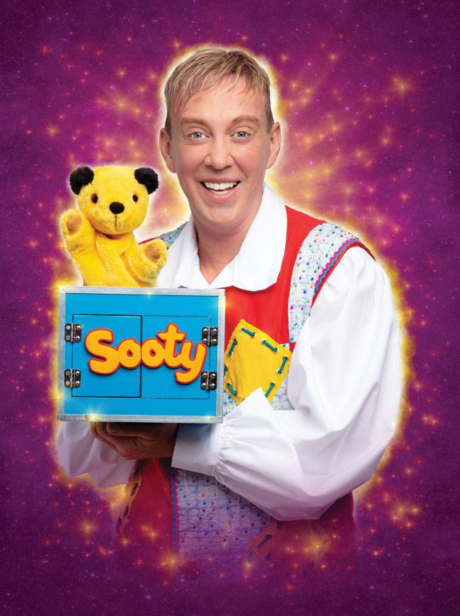 Sooty will star in Wolverhampton Grand's Sleeping Beauty panto this winter.