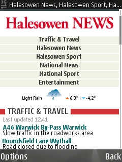 Halesowen News mobile