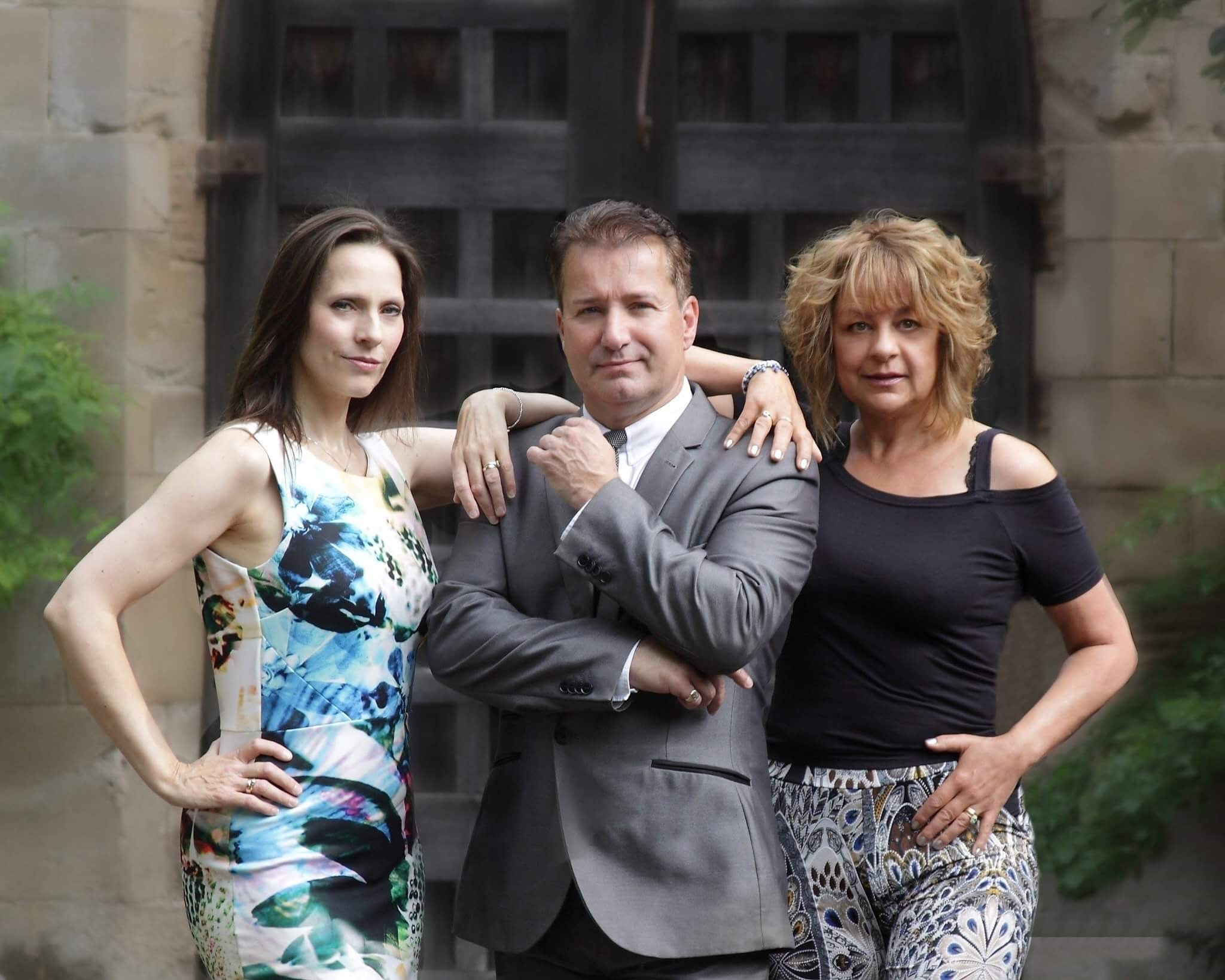 Who's Got Talent judges Claire Worboys, David Lawrence and Diane Ricci. PIC: Rachel Francis For All Seasons Photography