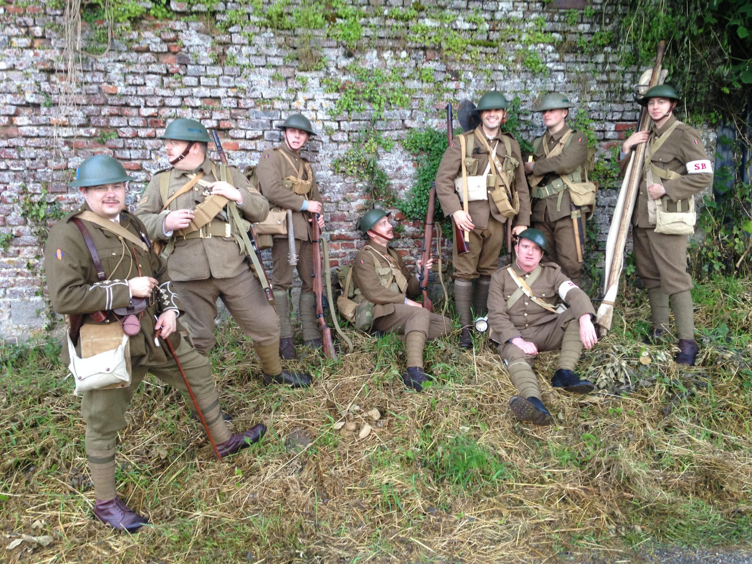Royal Warwickshire Regiment re-enactment group will be appearing at Haden Hill House Museum to mark 100 years since the end of the First World War.