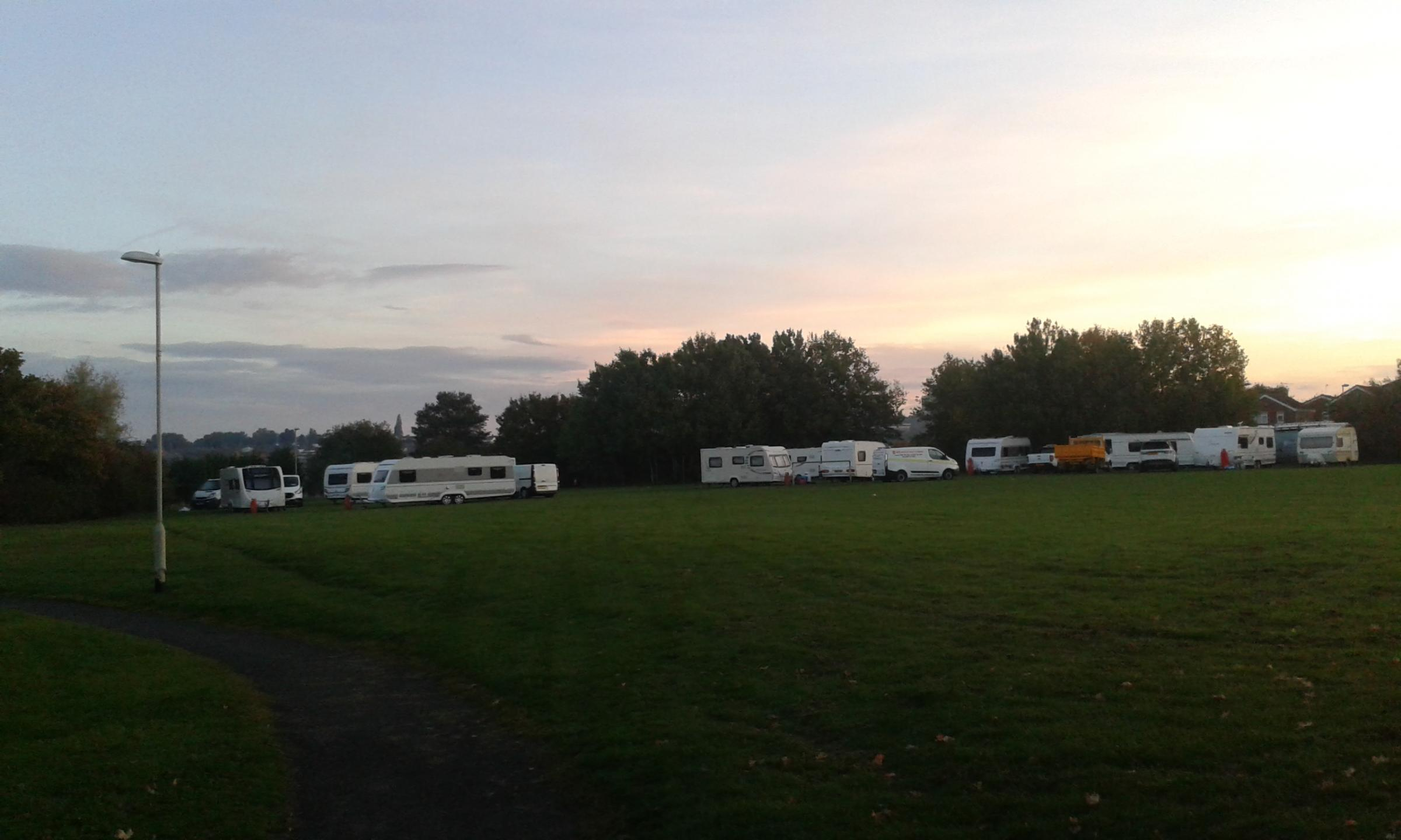 MP calls for swift action on latest Withymoor traveller camp
