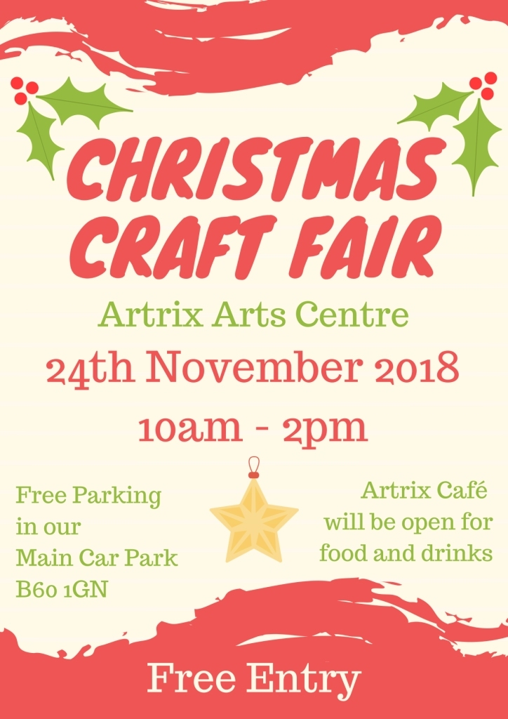 The Christmas Craft Fair will be coming back to town