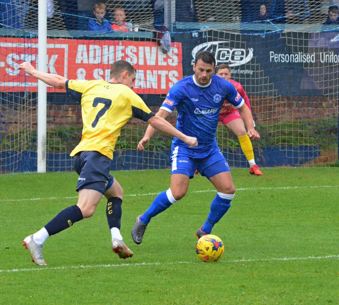 Asa Charlton has left the Yeltz. Photo from Halesowen Town FC.