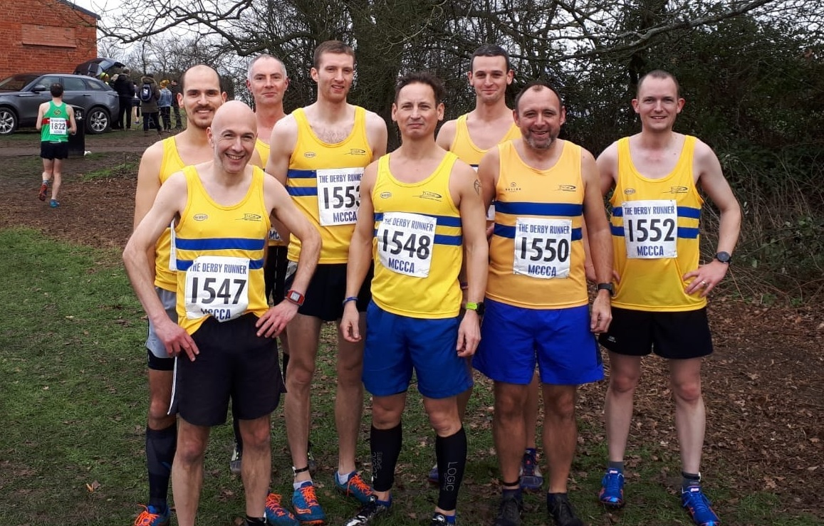 The DASH team at the Midlands Cross Country Championships