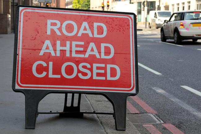 Lapal Lane South will close on weekdays from 9.30am till 3.30pm.