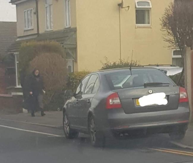 Cradley councillor spotted parked on double yellows - as