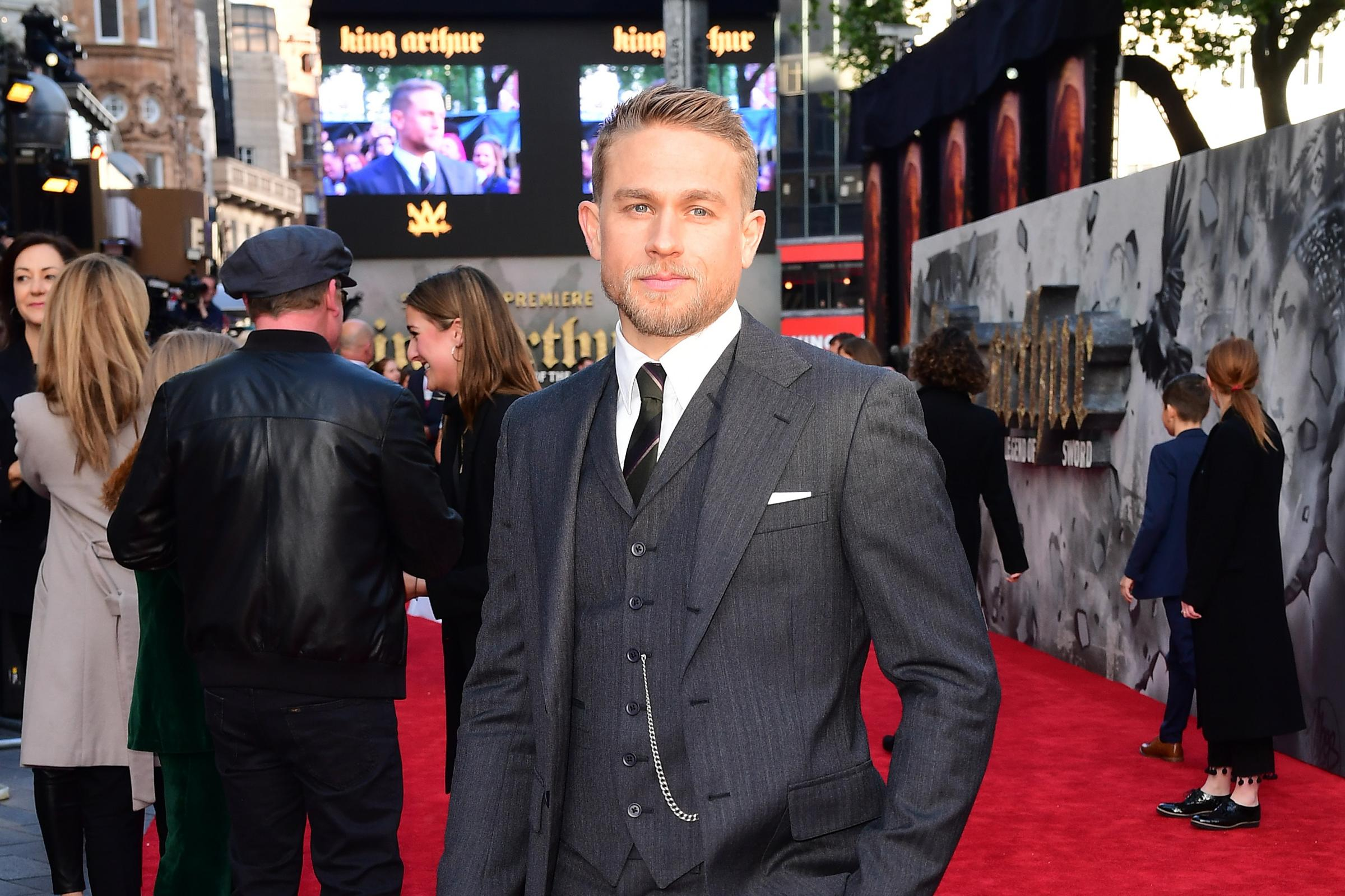 Sons Of Anarchy star Charlie Hunnam, who said Netflix should be eligible for Oscars