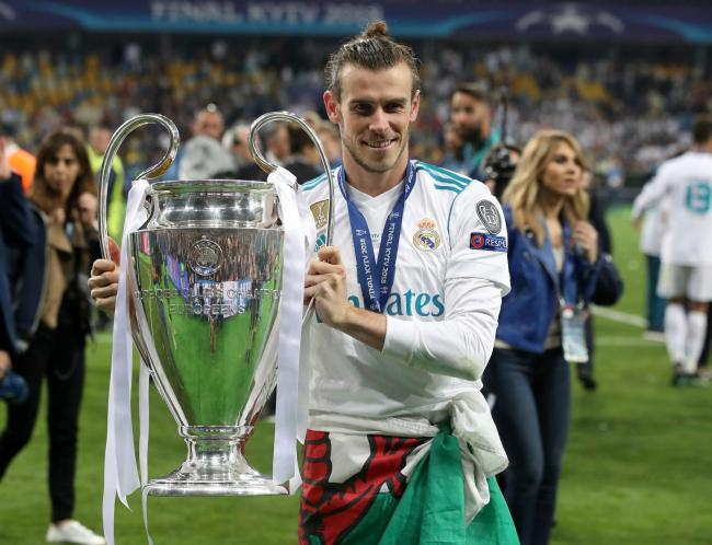 Real Madrid's Gareth Bale celebrates with the Champions League trophy - could the Galacticos find the next Bale in Lye? Picture by Nick Potts/PA Wire.