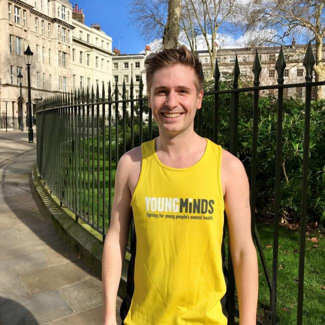RUN: Dan Middlehurst is running the marathon in memory of his friend Oli
