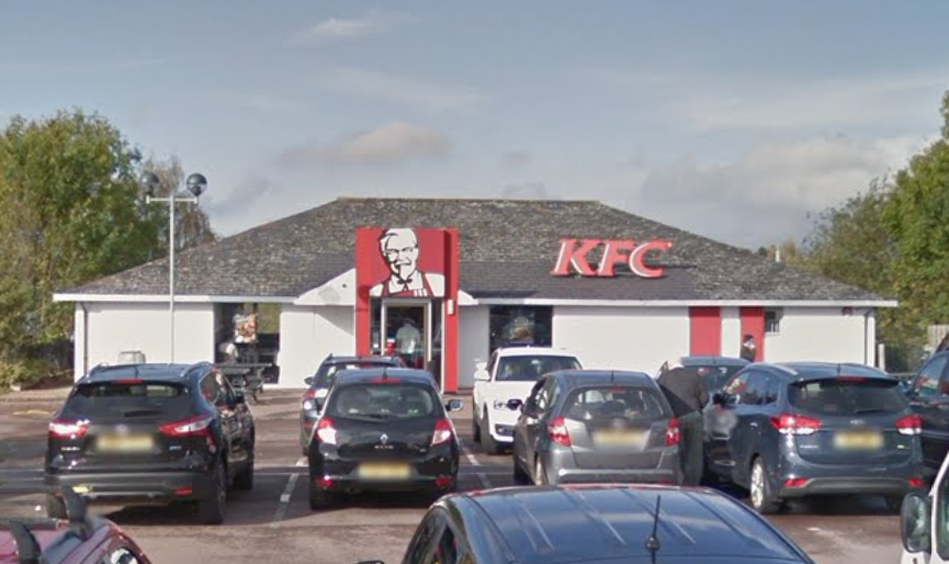 KFC in Ross-on-Wye. Photograph: Google.