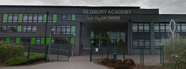 Oldbury Academy put out a warning to students.