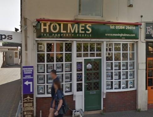 Holmes' office in Kingswinford. Picture: Google