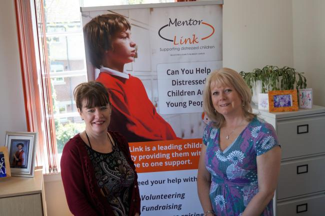 Mentor Link recruiter Karen Arnold and chief executive Andrea Maddocks MBE.