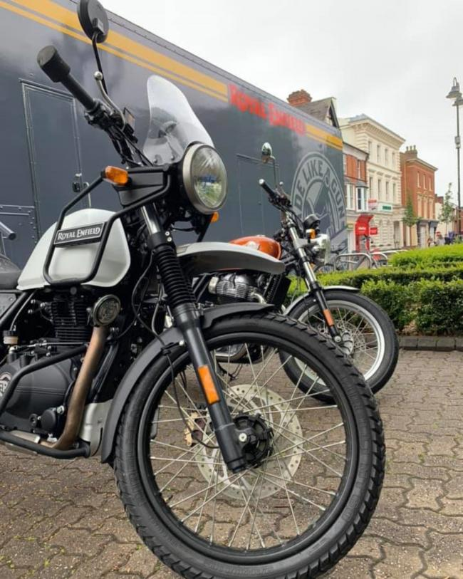 After 52 years, Royal Enfield returns to Redditch, paying tribute to its birthplace with a special event