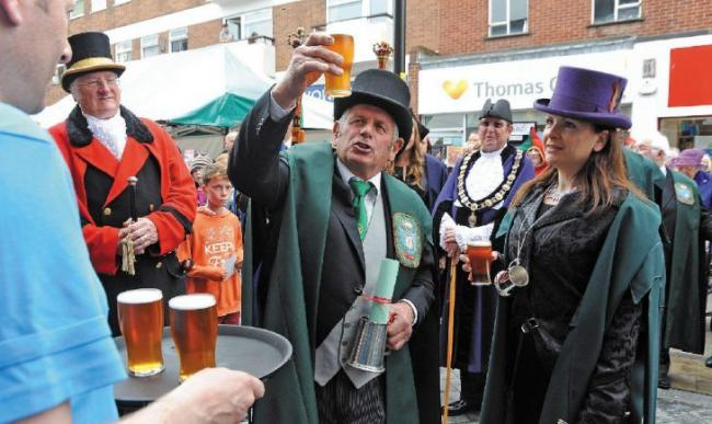 CHEERS! Bromsgrove will celebrate Court Leet Fair Day market later this month